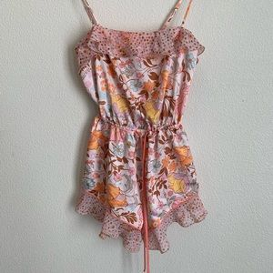Victoria's Secret: satin sleep romper